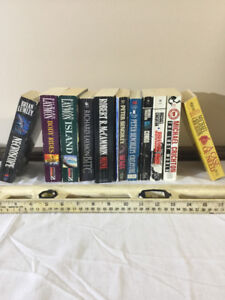 Michael Crichton, Thomas Harris, Peter Benchley and others