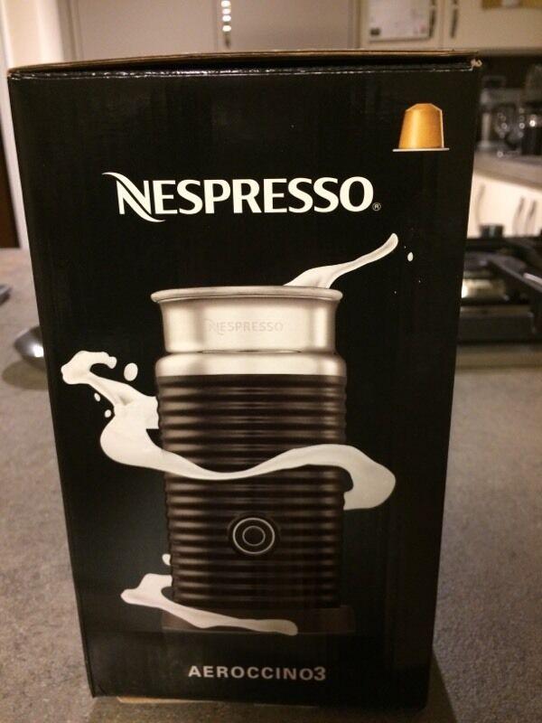 Nespresso Aeroccino milk frother brand new in box   in Livingston ...