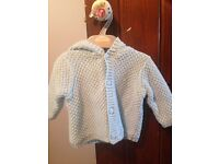 Knitted Cardigan 0 to 3 months
