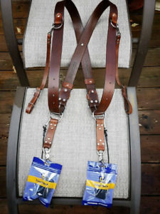 Leather Camera's straps and Harness
