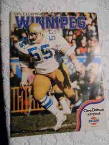 CFL WINNIPEG BLUE BOMBERS PROGRAM