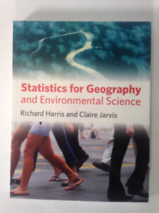 Statistics for Geography and Env. Science. by Richard Harris