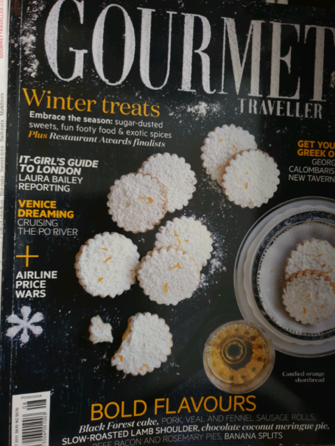 Vintage Gourmet Traveller Cooking Magazines 2013, 2014 ,2015