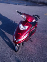 Red GIO e-bike (electric scooter)  (Throttle not working)