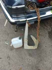 Boat anchor 2 ft by 1 ft about 25kg