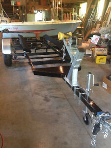 K&C ThermoGlass Boat with fully rebuilt Trailer