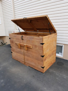Shed buy sell items from clothing to furniture and electronics treated wood garbage shed solutioingenieria Images