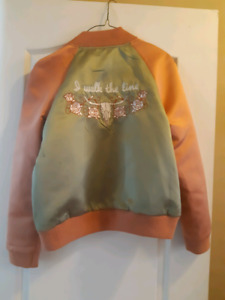 Understated Leather Brand New Bomber Jacket