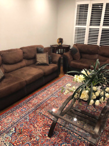 Mint condition couch and loveseat!