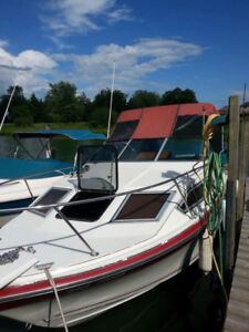 Doral Cavalier cabin cruiser complete with trailer