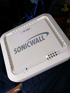 Dell SonicWALL tz100 firewall and VPN server