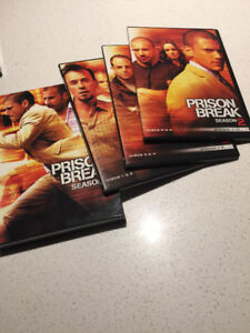 DVD - PRISON BREAK SAISON 2 + OZ SAISON 3 ET 6 - LIKE NEW