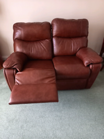 Leather Sofa With Recliner