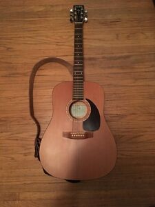 Simon & Patrick Luther Acoustic Guitar with Cases and Tuner