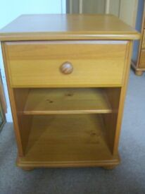Pine cabinet and matching dressing table/desk