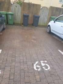 Private car parking space close to city centre