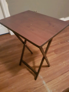 Wood Tray table for sale
