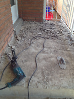Parging and Cement repairs