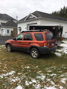Ford escape 2007 pour pieces