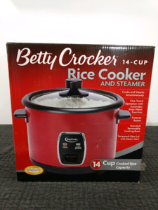 ✓SOLD!!!     Betty Crocker rice cooker and Steamer