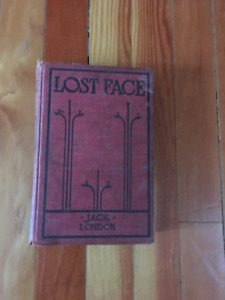 Jack London Book Lost Face 1910-1915 illutrated