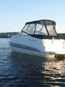 2007 Stingray 250CS cabin cruiser