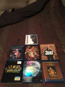 ASSORTED BLU-RAYS MINT CONDITION