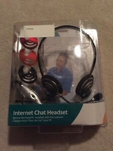 Logitech Internet Chat Headset - Unopened