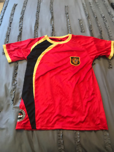 SPAIN VOLT OFFICIAL WORLD CUP YOUTH SOCCER JERSEY!