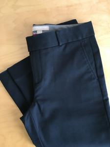 Banana Republic dark navy pants size 2