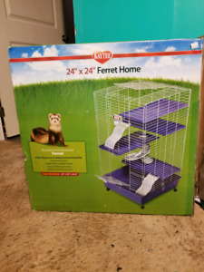 Ferret or large rodent cage