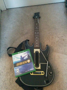 Guitar Hero Live+Guitar Controller For Xbox One