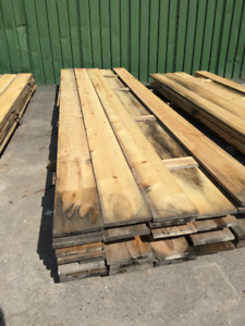 1x10 Pine Board PILES - LUMBER CLEAROUT