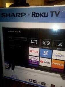 SHARP-ROKU FHD  50'' TV