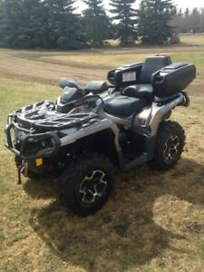 Can Am 2014 650XT Outlander Like New! FINANCING AVAIL.