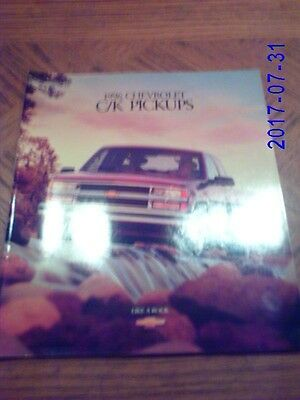 1996  Chevrolet  CK  Pickups  Original  Sales  Catalog