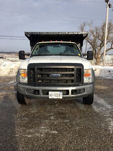 2010 Ford F-550 XL Pickup Truck Diesel 4x4 12 FT Bd Hydraulic Kitchener / Waterloo Kitchener Area image 3