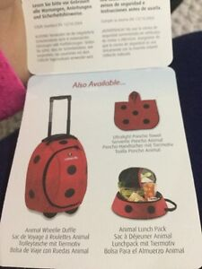 Little lite back back, luggage , lunch box (BRAND NEW)  London Ontario image 3