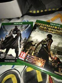 Xbox one: Dead rising 3 + Destiny