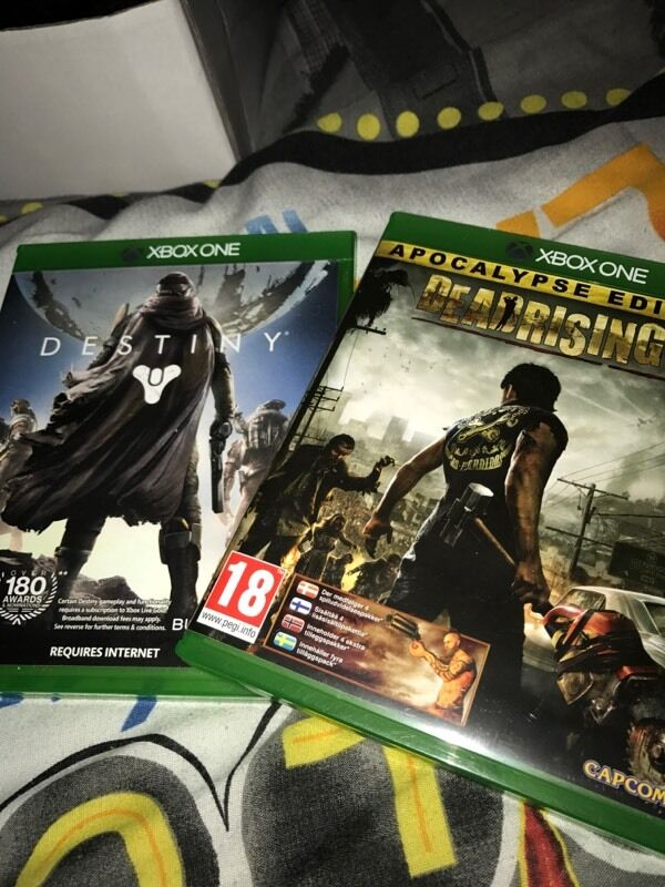 Xbox one: Dead rising 3 + Destiny