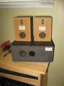 3 pioneer speakers and 1 impedance 6 ohm sub woofer London Ontario image 4
