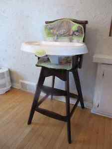 High chair 50$, and bassinet for 75$