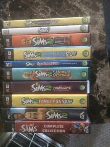 Selling Lot of Sims Games , $40.00 or obo