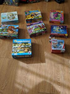Assorted Floor Puzzles