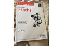 How to pass nat 5 maths