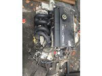 Ford Fiesta 1.25 zetec engine and gearbox stock car auto testing