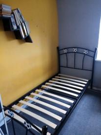 Football single bed frame