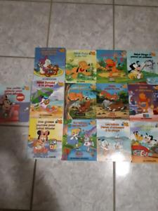 Livres cartonnés de Disney pour très jeunes enfants.