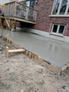 Concrete work! Great service! Low prices