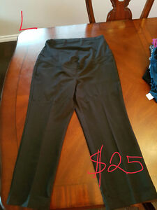 Maternity dress pants.  Prices in pictures